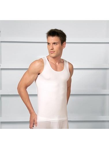 Goldenbay Erkek Kalın Askılı Pamuklu Atlet Beyaz